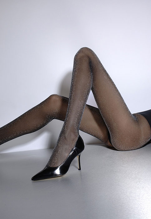 Cecilia de Rafael Viena Lurex Tights