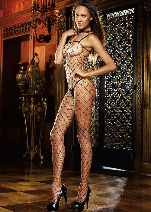 Dreamgirl Fence Net Bodystocking