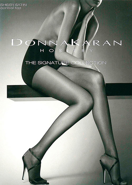 Donna Karan Signature Collection Sheer Satin Control Top Tights