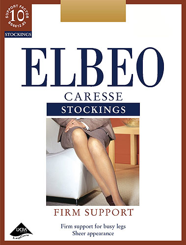 Elbeo Caresse Firm Support Stockings Vintage Colours