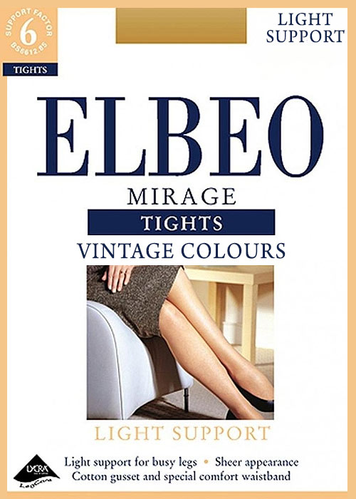 Elbeo Mirage Tights Vintage Colours