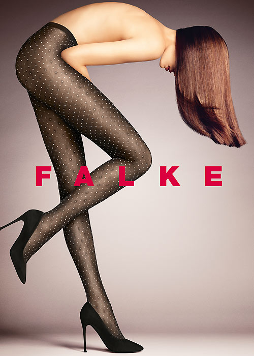Falke Picot Floral Tights