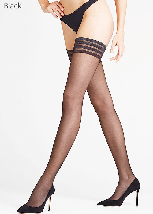 48825d01b Falke Pure Matt 20 Denier Three Ring Hold Ups In Stock At UK Tights