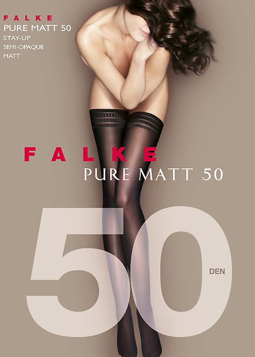 Falke Pure Matt 50 Hold Ups