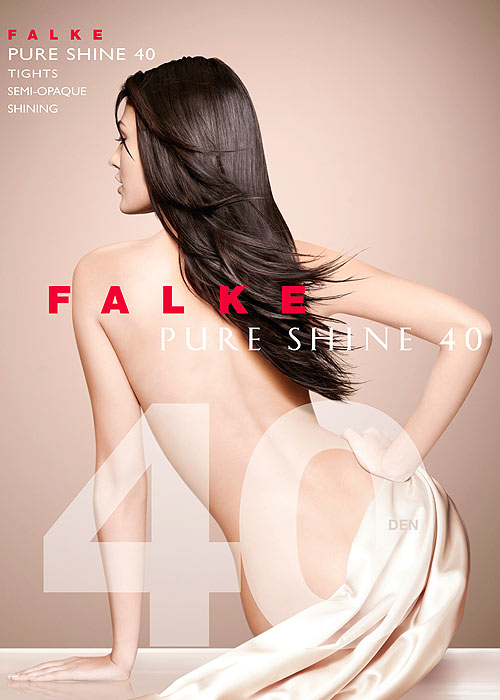 053145638 Falke Pure Shine 40 Tights In Stock At UK Tights