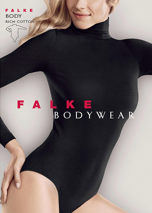 Falke Rich Cotton Body Zoom 3