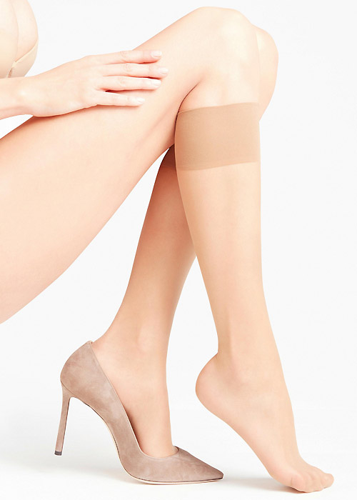 Falke Seidenglatt 15 Sensitive Top Knee Highs