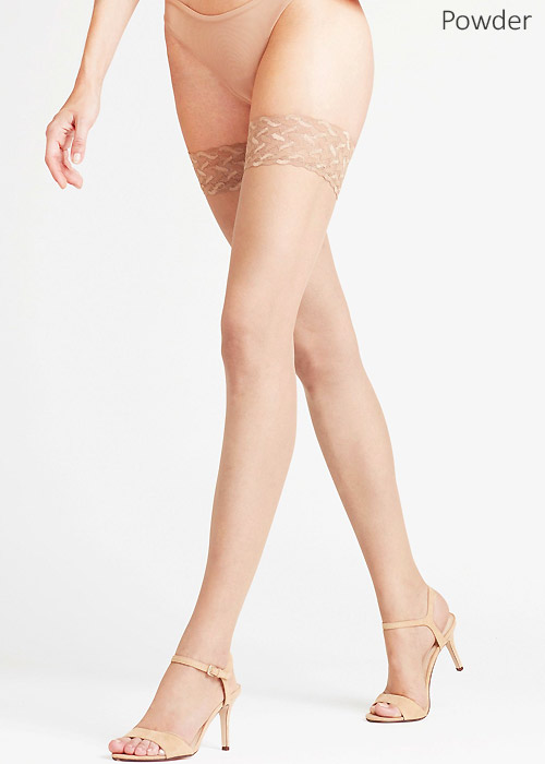 Falke Shelina 12 Toeless Thong Hold Ups