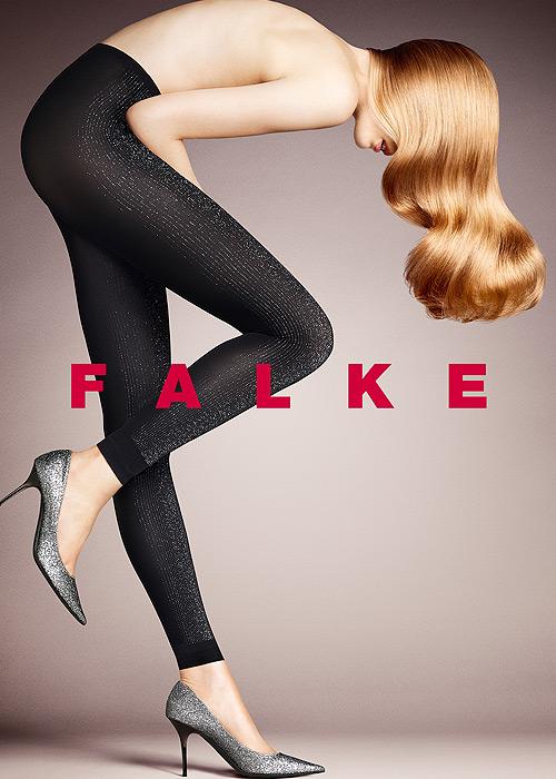 Falke Stardust Footless Tights