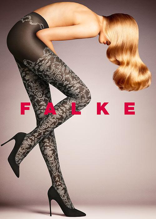 Falke Toile De Jouy Fashion Tights