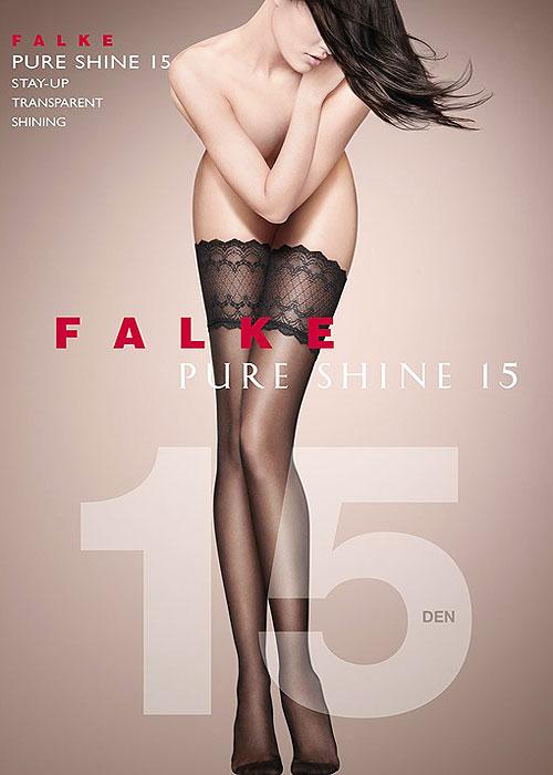 Falke Pure Shine 15 Hold Ups
