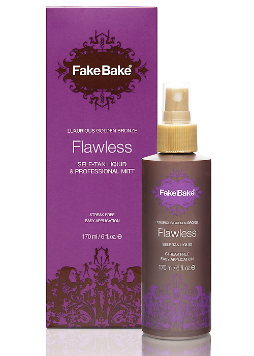 Fake Bake Flawless Self Tan Liquid & Mitt