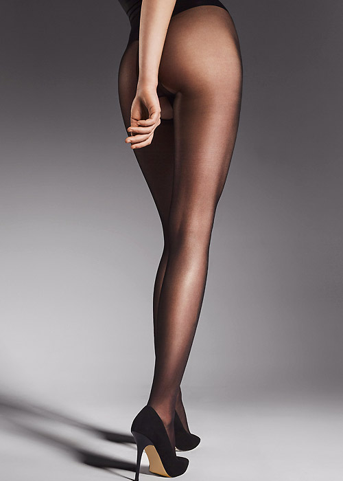 Fiore Ouvert 20 Crotchless Tights