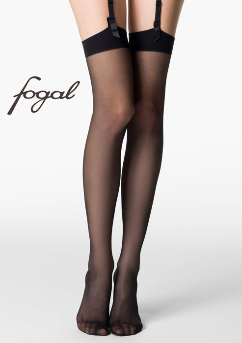 3ee741537927e Fogal Catwalk 10 Stockings In Stock At UK Tights