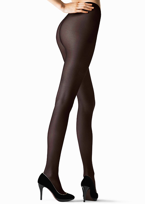 32613a62f £45.99  Fogal Lumiere Semi Opaque Silk Tights