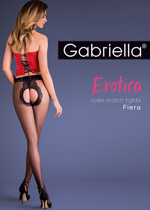 Gabriella Fiera Open Crotch Tights