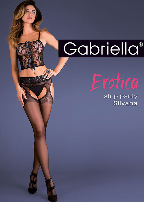 Gabriella Silvana Strip Panty Tights
