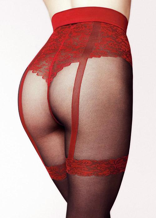 Gerbe Seduction Strip Panty Tights