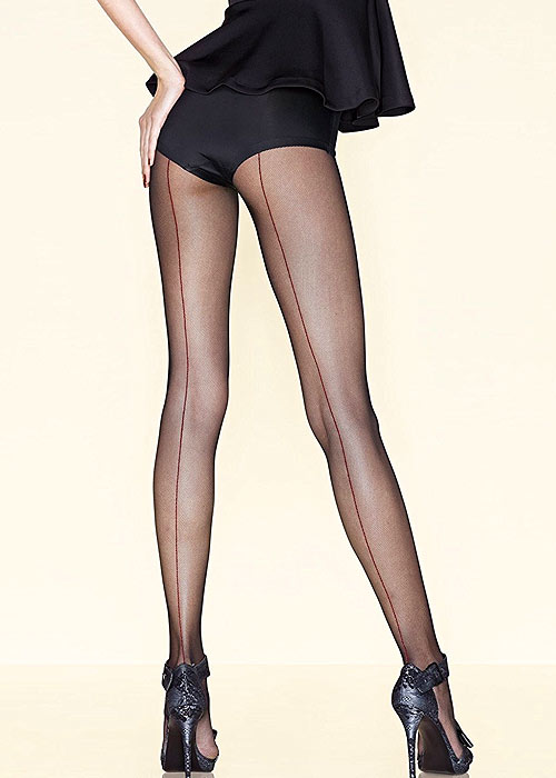 Gerbe Sevilla Micronet Backseam Tights