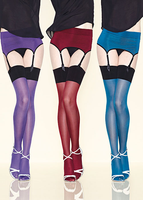 Gerbe Sensation Coloured Suspender Belt