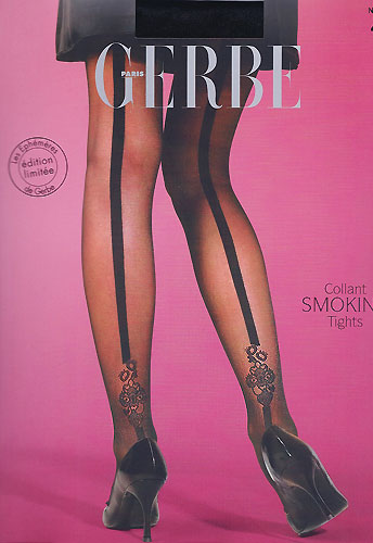 Gerbe Smoking Back Seamed Tights