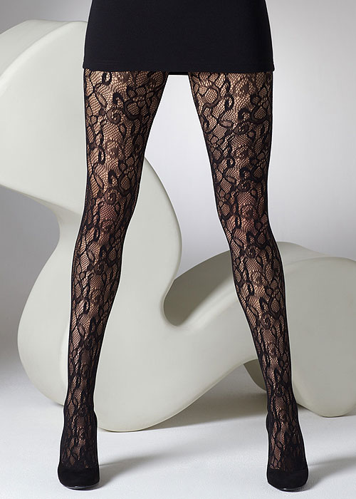 342fe83a5 Gipsy Flower Net Tights In Stock At UK Tights