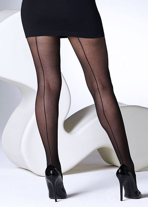 Gipsy Shadow Fishnet Seamed Tights