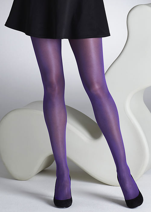 Purple sheer pantyhose images 616