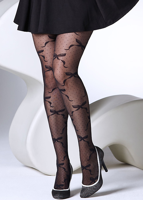 Gipsy Polka Dot Bow Tights
