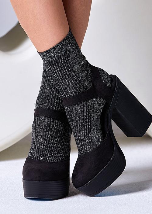 Gipsy Sparkle Seam Free Socks