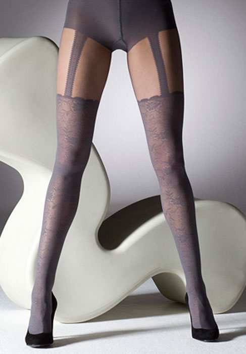 0936db180 Gipsy Mock Lace Suspender Tights In Stock At UK Tights