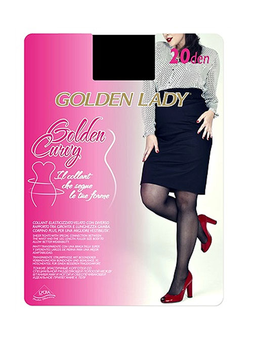 Golden Lady Curvy 20 Denier Tights