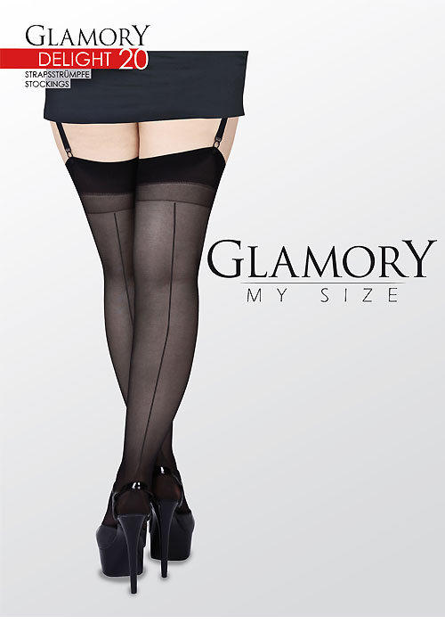 Seamed Stockings Plus Seamed Stockings £6.99 AT vintagedancer.com