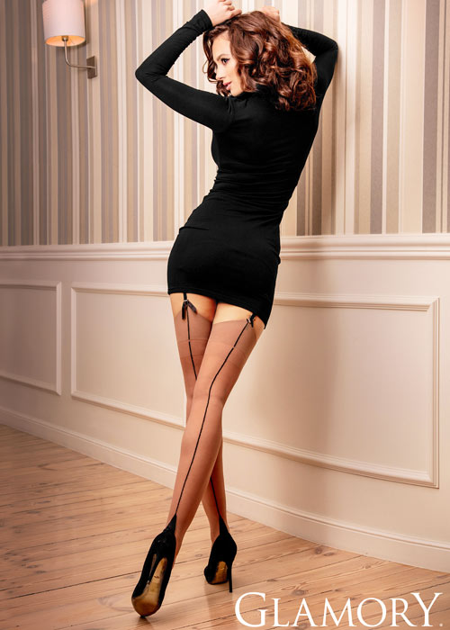 Glamory Delight 20 Denier Seamed Stockings