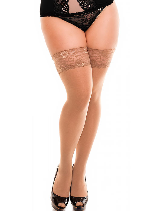 Glamory Micro 60 Denier Hold Ups Zoom 2