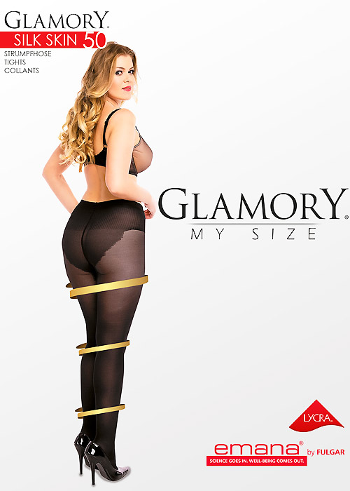 Glamory Silk Skin 50 Denier Anti-Cellulite Tights