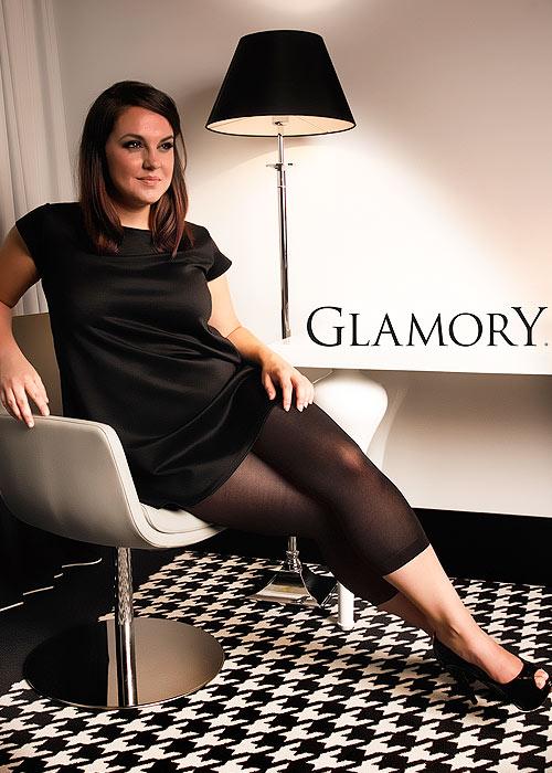 Glamory Velvet 80 Denier Footless Tights