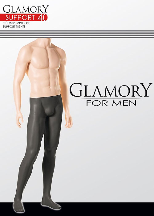 Glamory Mens Support 40 Tights