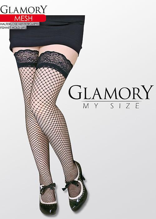 Glamory Mesh Hold Ups