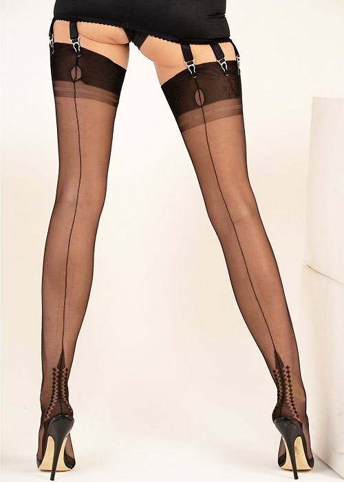 Gio Fully Fashioned Memphis Heel Stockings