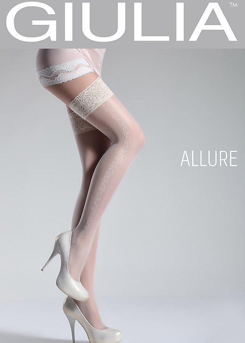 Giulia Allure Trellis Side Seam Hold Ups N.5