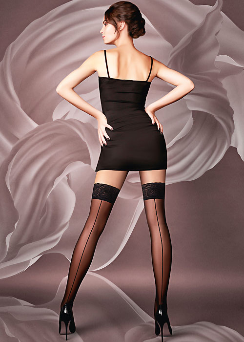 Giulia Chic 20 Seamed Hold Ups