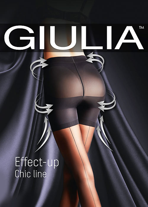 Giulia Effect Up Chic Line Tights