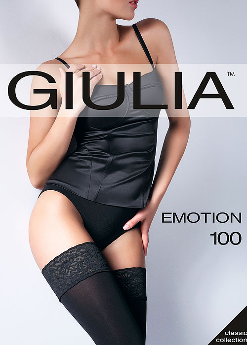 Giulia Emotion 100 Denier Hold Ups