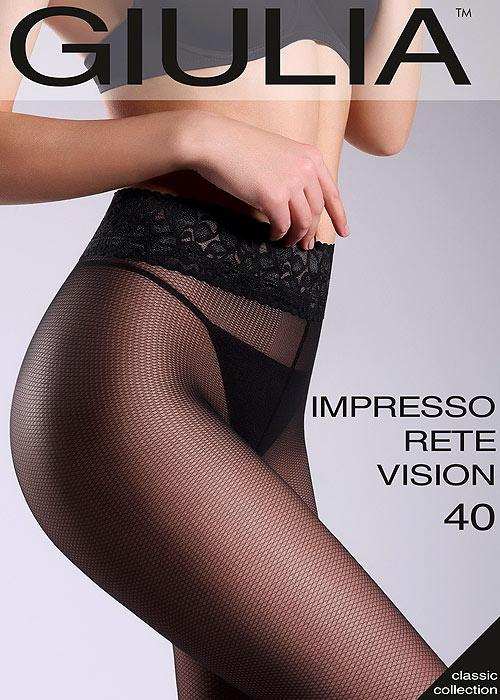 Giulia Impresso Rete Vision 40 Fashion Tights