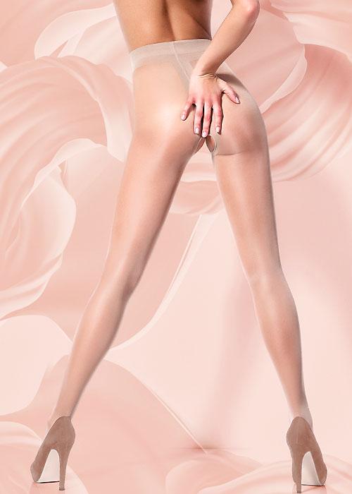 Giulia Intimo Crotchless 20 Tights