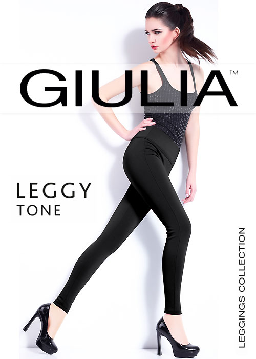 Giulia Leggy Tone Opaque Leggings