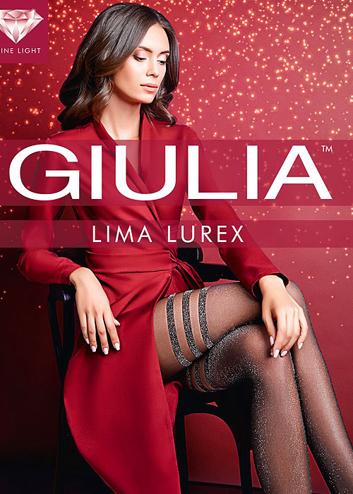 Giulia Lima Lurex Fashion Tights N.2