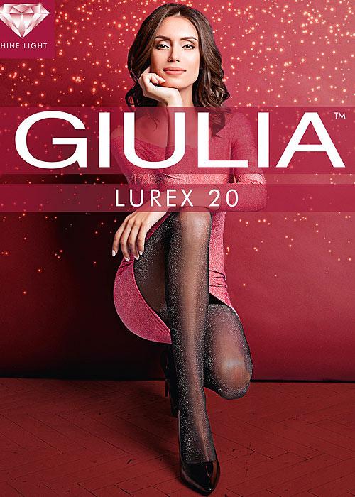 Giulia Lurex Fashion Tights N.1