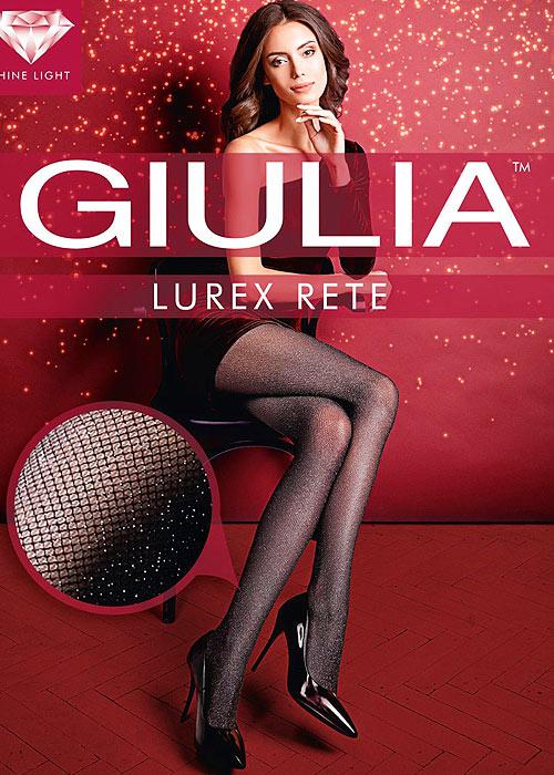 Giulia Lurex Rete Fashion Tights N.1
